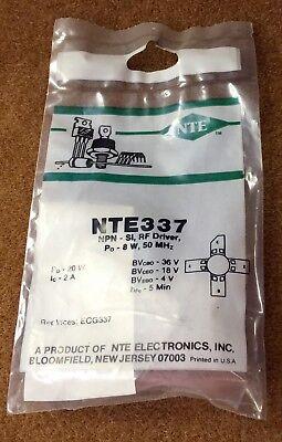 Nte Electronics Nte337 Silicon Npn Transistor Rf Power Amp Driver