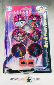 Heroclix Batman the Animated Series Dice & Token Pack
