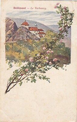 Delémont Jura AK 1907 Vorbourg Schweiz Suisse Svizzera 1710127
