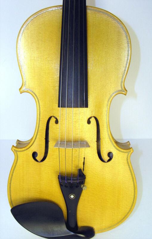 5 String Violin for Completion / Varnish or Setup. Full size, Beautiful Grain