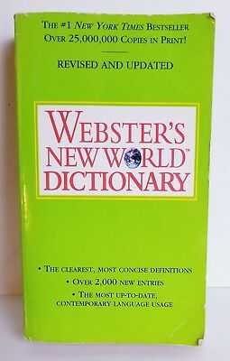 Webster's New World Dictionary Buy Books Online Book On Line Stores Cheap USA #1 (Cheap Online Adult Store)