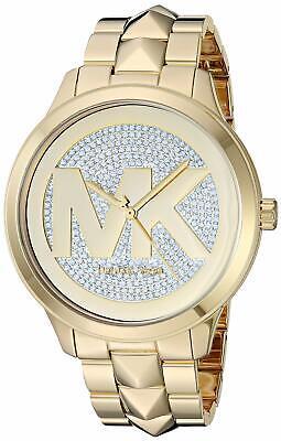 Michael Kors Watch MK6714 Runway Mercer Gold Stainless Steel
