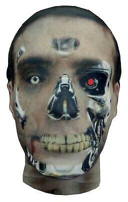The Terminator Full Head Mask, T-800/850 Model 101, Halloween Costume - Terminator T 800 Kostüm