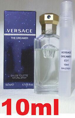 Versace Dreamer Eau De Toilette 10ml Mens Fragrance /Aftershave