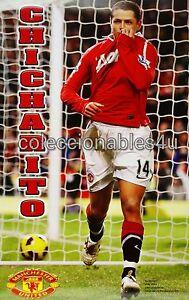Poster Javier Chicharito Hernandez 22x32 Manchester United ...