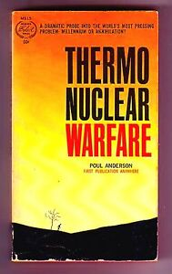 THERMO-NUCLEAR-WARFARE-SIGNED-by-Poul-Anderson-1st-US-PBO-nuclear-annihilation