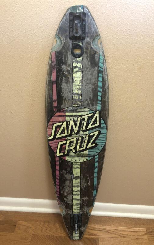 "Santa Cruz Mahaka Rasta 43.5"" Pintail Longboard - Deck Only"