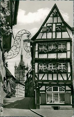 Ansichtskarte Bad Wimpfen am Neckar Salzgasse Blauer Turm  (Nr.9005)