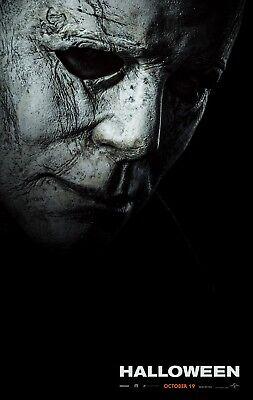 Halloween 2018 Movie Poster (24x36) - Jamie Lee Curtis, Mike Myers, Judy Greer