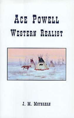 ACE POWELL WESTERN REALIST Author Signed Western Art Book for sale  Spokane