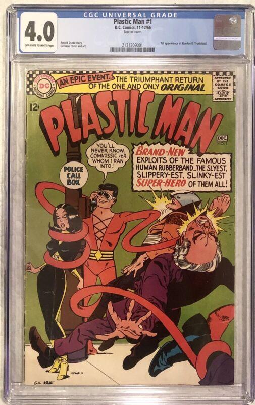 Plastic Man #1 CGC 4.0