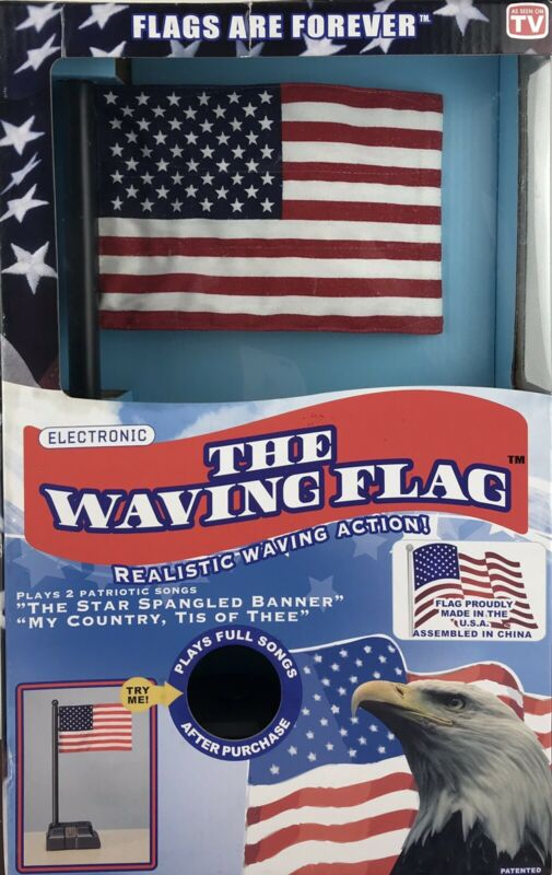 The Waving Flag   (BATTERIES INCLUDED)