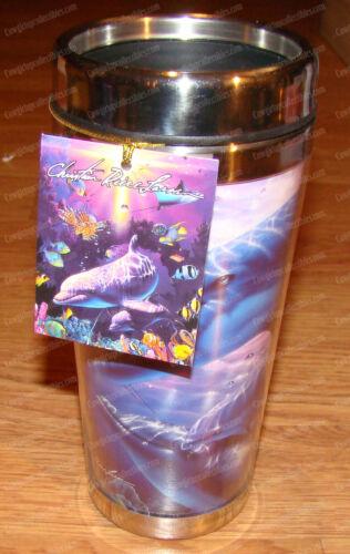 Perfect World Stainless Travel Mug (Dolphin) 16 oz. (Lassen by Westland, 23217)