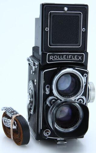 Rolleiflex 2.8C TLR w/ f2.8 80mm Schneider-Kreuznach Xenotar tested 388307