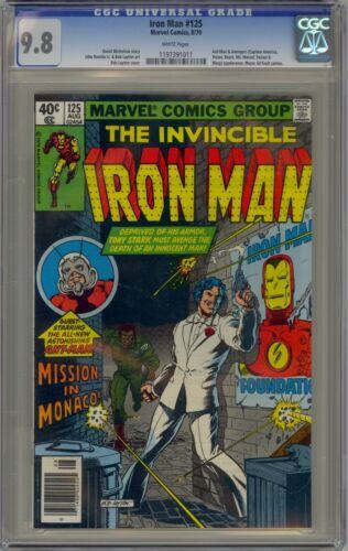 Iron Man 125 CGC 9.8