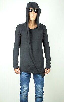 CEDRIC JACQUEMYN Angora Hooded Sweater Size 46/S