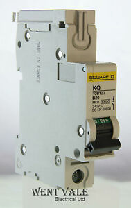 Square-D-KQ10B120-20a-Type-B-Single-Pole-MCB-Un-used