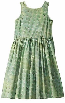 NWT Molo Girl's Chalice Dress Cactus Dots Size 11-12 Years