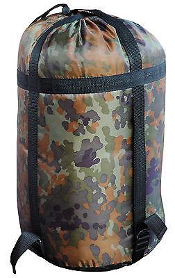 Army Mumien Schlafsack BW Bundeswehr Flecktarn US Angelschlafsack Jagdschlafsack