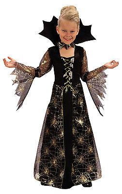 Vampir Mädchen 4-6 Kinder Kostüm Kinderkostüm Horror Halloween Karneval 78066