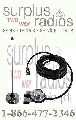 Antenna Trunk Mount Uhf Nmo Motorola Cdm750 Xpr4350 Xpr4550 M1225 Cm200d Mobile