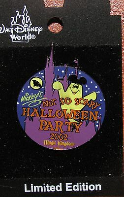 A22 DISNEY PIN LE CARDED NOT SO SCARY HALLOWEEN PARTY 2002 MAGIC KINGDOM - A Not So Scary Halloween Disney