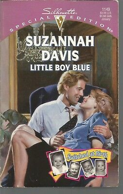 Little Boy Blue Switched At Birth Silhouette Special Edition 1149 S Davis Pb 199