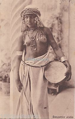 AFRICA ETHNIC  -RISQUE - ARABE DANCER GIRL   - LENHERT & LANDROCK, TUNIS