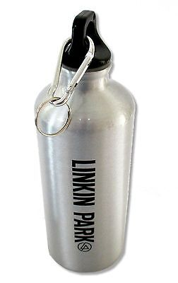 "LINKIN PARK ""LOGO"" BAND WATER BOTTLE NEW OFFICIAL"