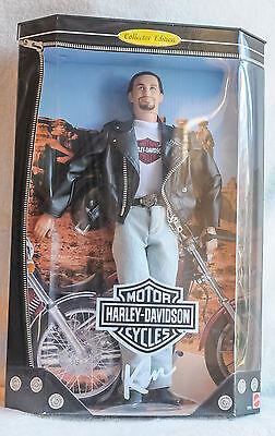 Harley-Davidson Ken Doll #22255 - 1998 Barbie Collectible