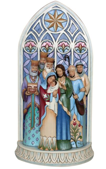 Heartwood Creek The Light Of the World Nativity Scene  by Jim Shore  25418