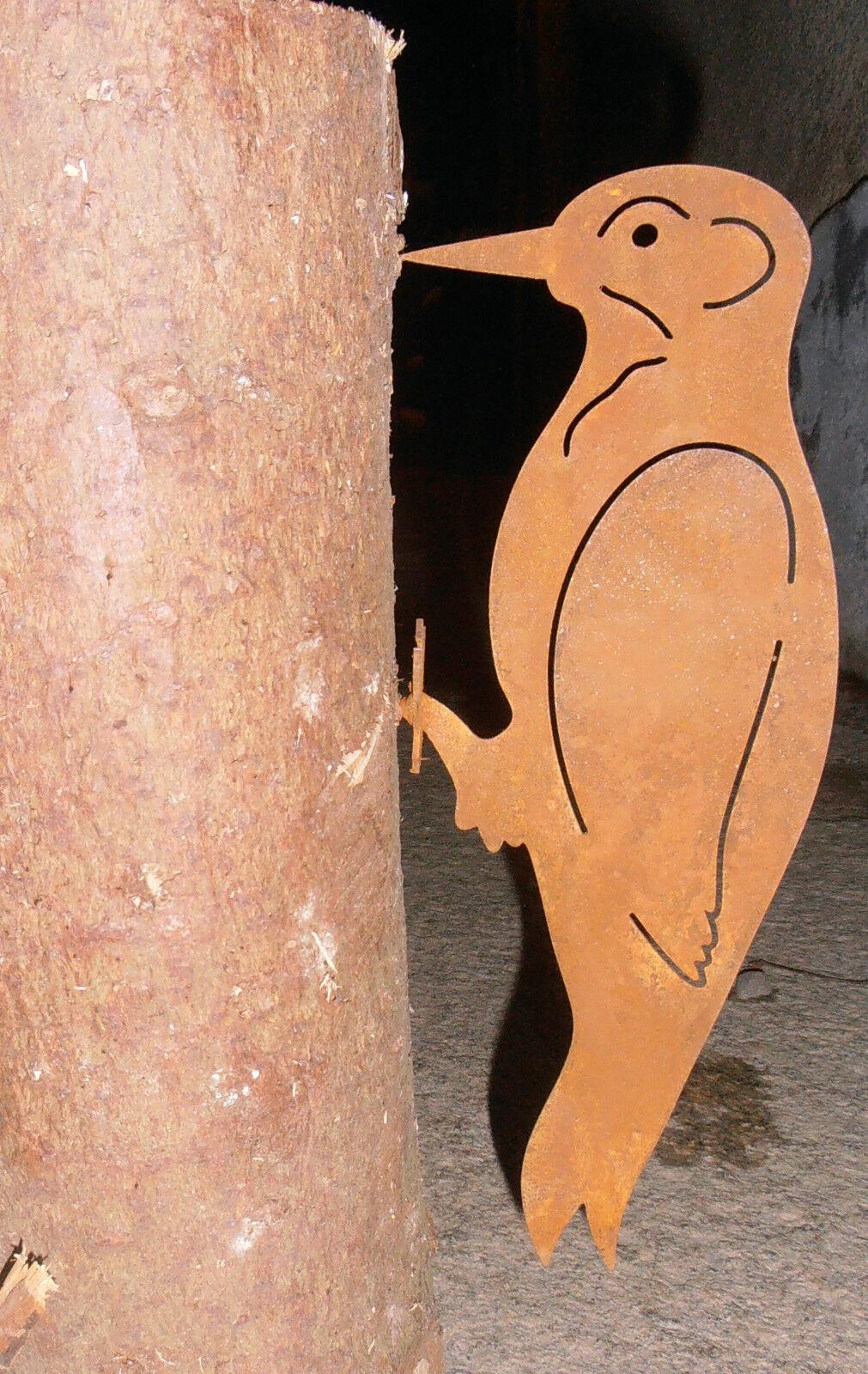 Edelrost specht garten schraubgewinde metall baum rost for Edelrost garten