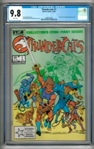 Thundercats #1 (1985) CGC 9.8 White Pages  Michelinie - Mooney - Breeding