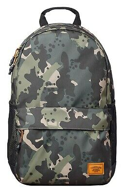 Timberland Rucksack Green Camo Backpack School Casual Work Bag Travel Laptop