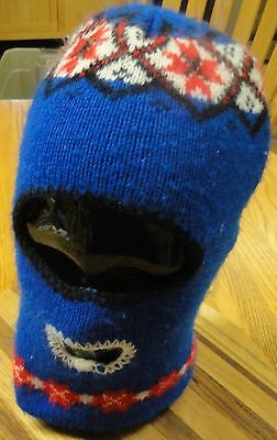 VINTAGE SCARY ROBBERS WINTER SKI COLD WEATHER FACE MASK FOR SMALL ADULT OR - Scary Masks For Kids