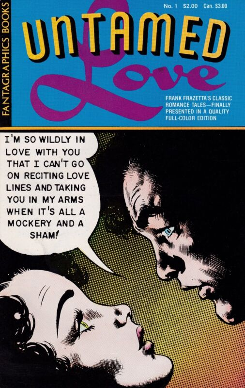 FRANK FRAZETTA UNTAMED LOVE NUMBER ONE 1987 FULL-COLOR EDITION
