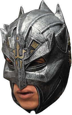 Dragon Warrior Latex Adult Mask Disguise Ghoulish Metallic Look Helmet -