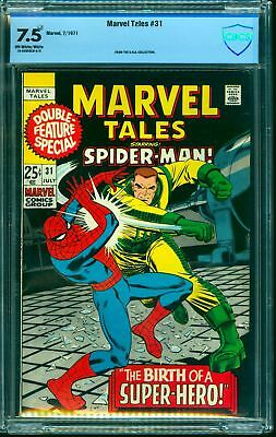 Marvel Tales #31 CBCS VF- 7.5 Off White to White