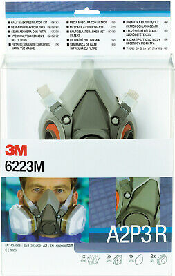 FFP3 FFP2 P3 P2 Maske 6200 6055 5935 3M Partikelmaske Atemschutzmaske Set 6223