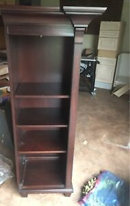 Book End Shelving Unit Solid Wood