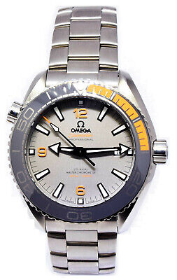 Omega Seamaster Planet Ocean Titanium Mens Watch Box/Papers 21590442199001