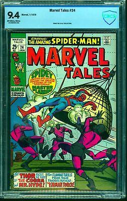 Marvel Tales #24 CBCS NM 9.4 Off White to White