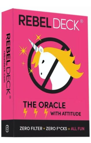 Rebel Deck-The Oracle With Attitude (60 Cards) Card Game—ON SALE, From USA