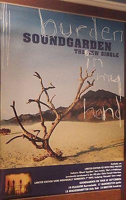 40X60  Subway Poster Soundgarden 1996 Down On Upside Burden I Hand Chris Cornell