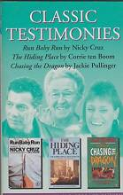 CLASSIC TESTIMONIES 3-in-1 Cruz / ten Boom / Pullinger ~ 1st Ed S Perth Region Preview