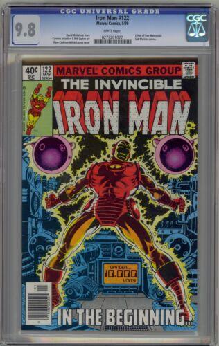 Iron Man 122 CGC 9.8