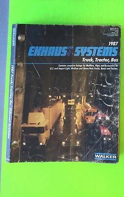 Muffler catalog, Walker, 1987.    Item: 9030c