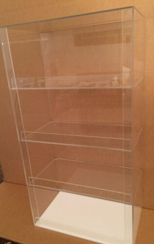 """USA- Acrylic Display Case 12"""" x 7""""x 20.5"""" tall Convenience Store Counter Display"""