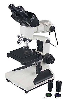 Radical 1200x Professional Binocular Metallurgical Microscope W Measuring Ret...