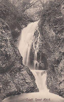 Postcard - Crieff - Spout Hoick